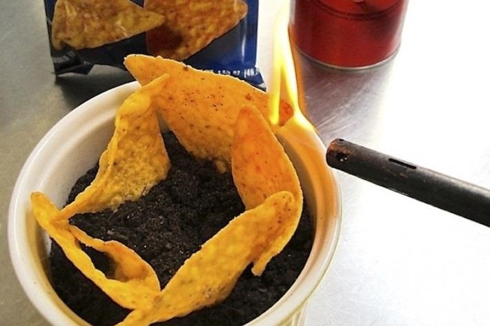 How to Turn Corn or Potato Chips into a MacGyver-Style Emergency Candle