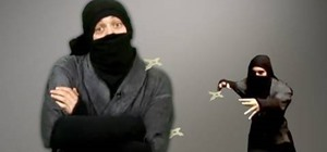 Make ninja weapons for your movies