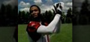 Make an over-the-shoulder catch like Larry Fitzgerald