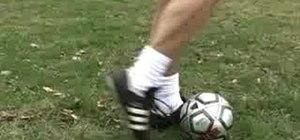 Teach kids how to kick a soccer ball