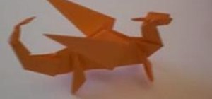 Fold an Origami Dragon