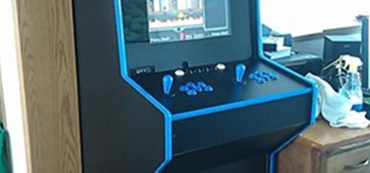 Mame Arcade Cabinet 171 Wonderhowto Company Wonderhowto