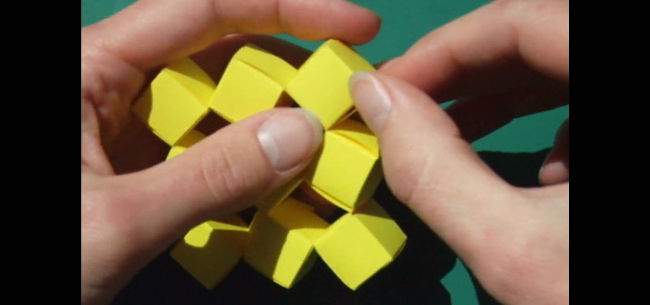 How To Craft Origami Moving Cubes Without Glue Papercraft