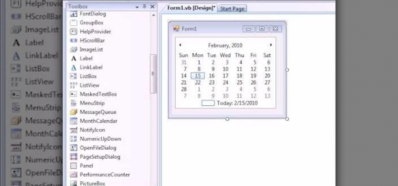 How to Make a calendar in VB Net « VB NET :: WonderHowTo