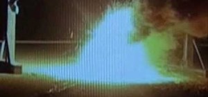 Create a thermite reaction