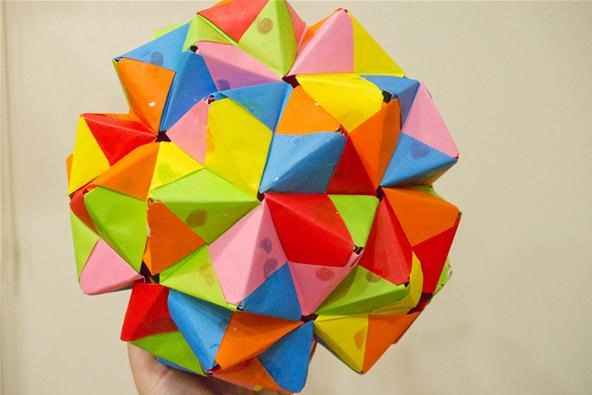 Modular Origami How To Make A Truncated Icosahedron Pentakis