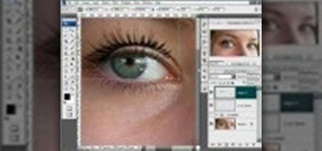 How To Draw Realistic Eyelashes In Photoshop Photoshop Wonderhowto