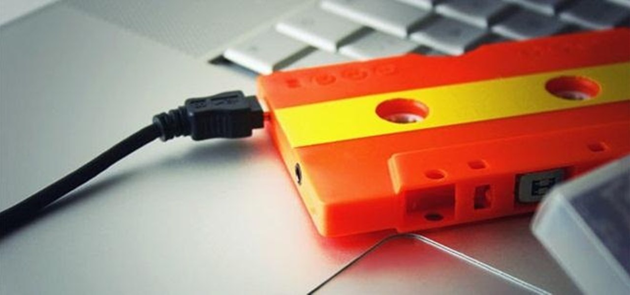 How to Convert Your Old Cassette Tapes into Digital MP3 Music Files « Audacity