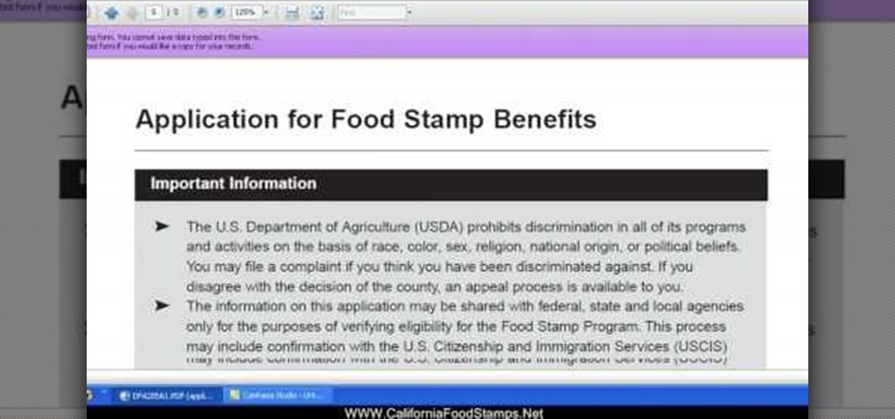 Can You File Taxes On Food Stamps