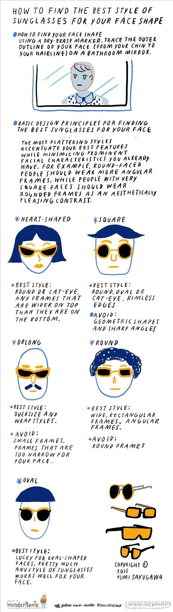 How to Find the Best Sunglasses for Your Face Shape