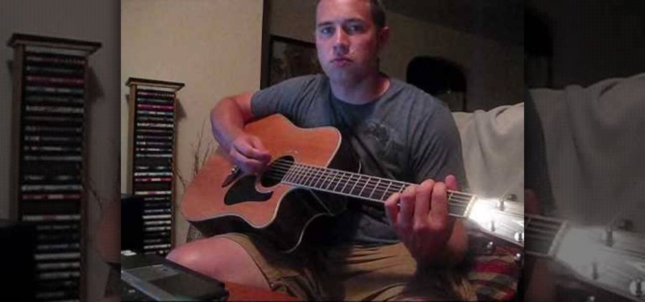 How To Play Thunder By Boys Like Girls On Acoustic Guitar
