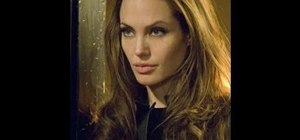 "Create Angelina Jolie's voluminous hairstyle from ""Wanted"""
