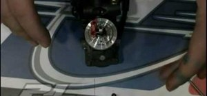 Install nitro clutch shoes on a remote control vehicle