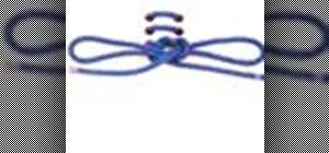 Tie a standard shoelace knot