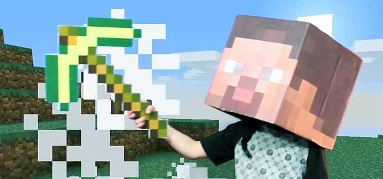 Make a Simple Minecraft Steve Costume for Halloween