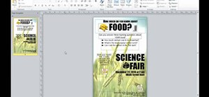 Create a document for the web in Microsoft Publisher 2010