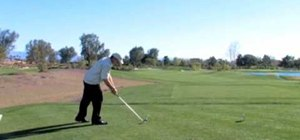 Pull of the perfect pre-shot routine in golf