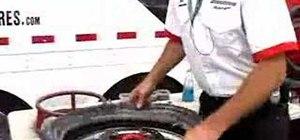 Change a dirt bike tire
