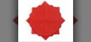 Origami a sun Japanese style