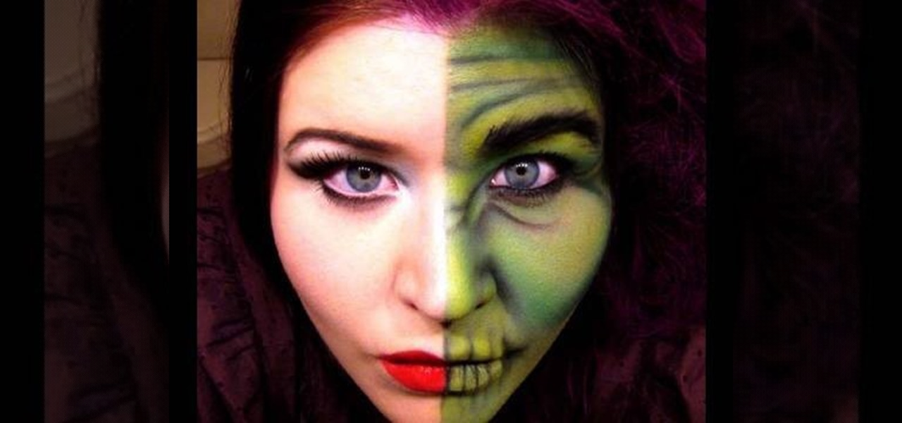 How to Apply two-face Dr Jekyll inspired Halloween makeup « Makeup ...