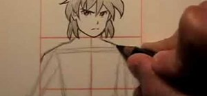 Learn the basics of body proportions for manga drawing