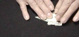 Origami a ballin' dollar bill elephant
