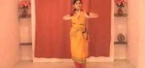 Perform Teermanam Adavu in Indian Bharatanatyam dance