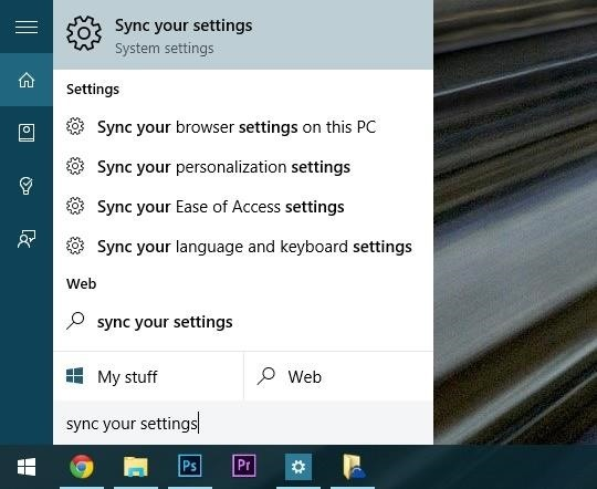 windows 10 how to sync files with one drive