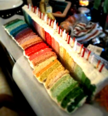 RECIPE: Amazing Rainbow Cake HowTo