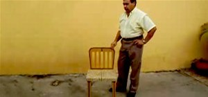 The Magically Shrinking Chair