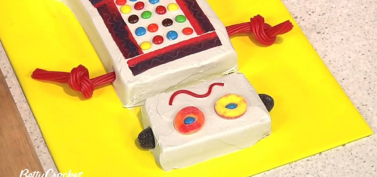 How To Decorate A Robot Birthday Cake Cake Decorating Wonderhowto