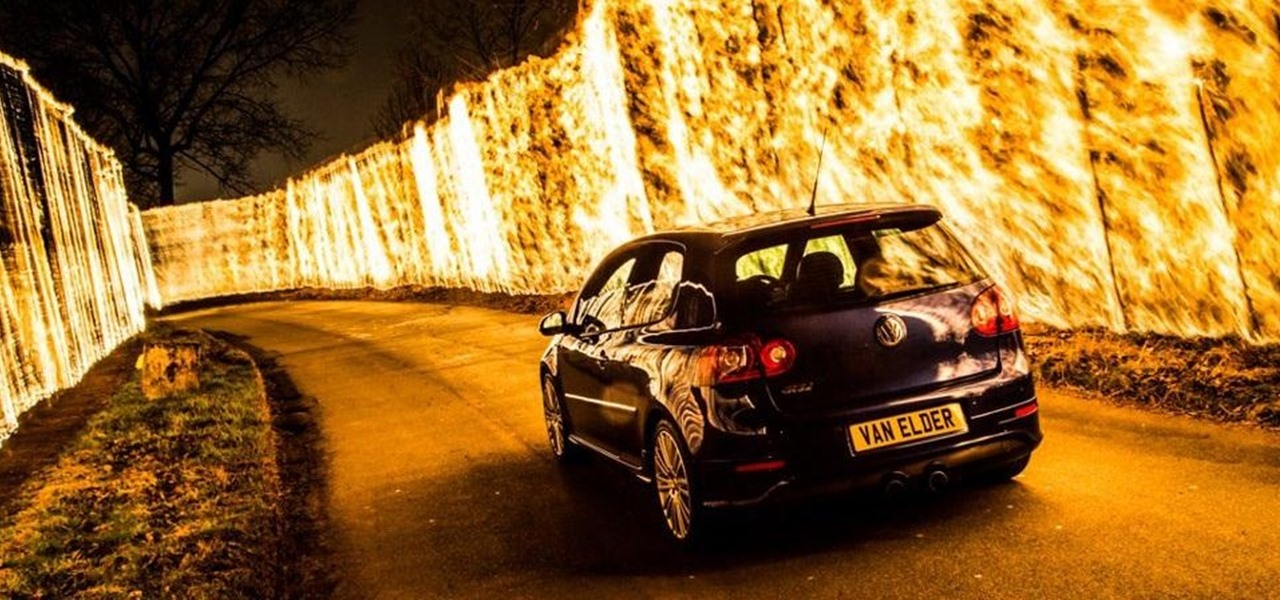 How to Capture the Perfect, Most Badass Wall of Flames Photo