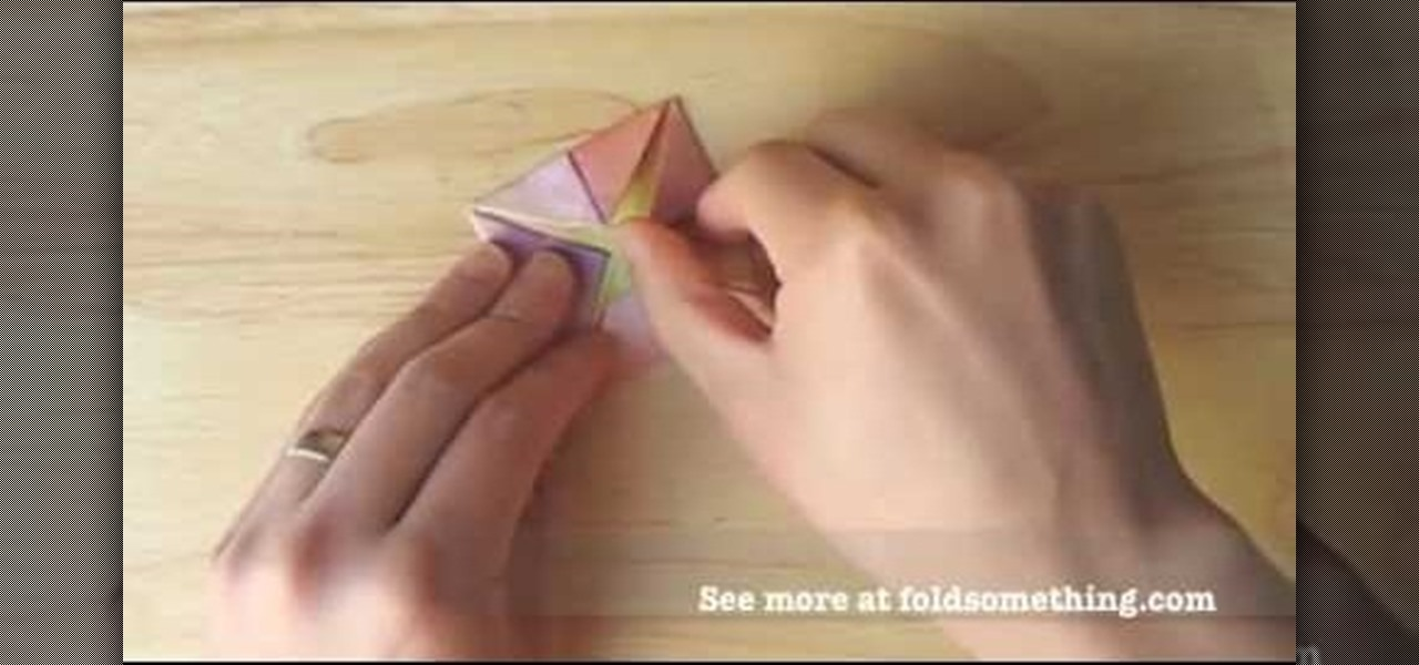 Easy Origami Lotus Anleitung 2020 - Haus - Nc to do | 600x1280