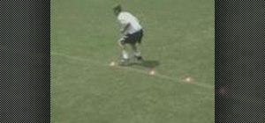 Practice Backward Shuffle soccer goalie drills