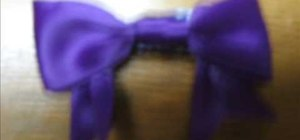 Make an adorable hair bow for girls