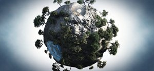 Model a Caricature of a Planet in Vue 6 xStream