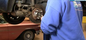 Replace the rear wheel bearing hub in a 1998-2004 Dodge Intrepid