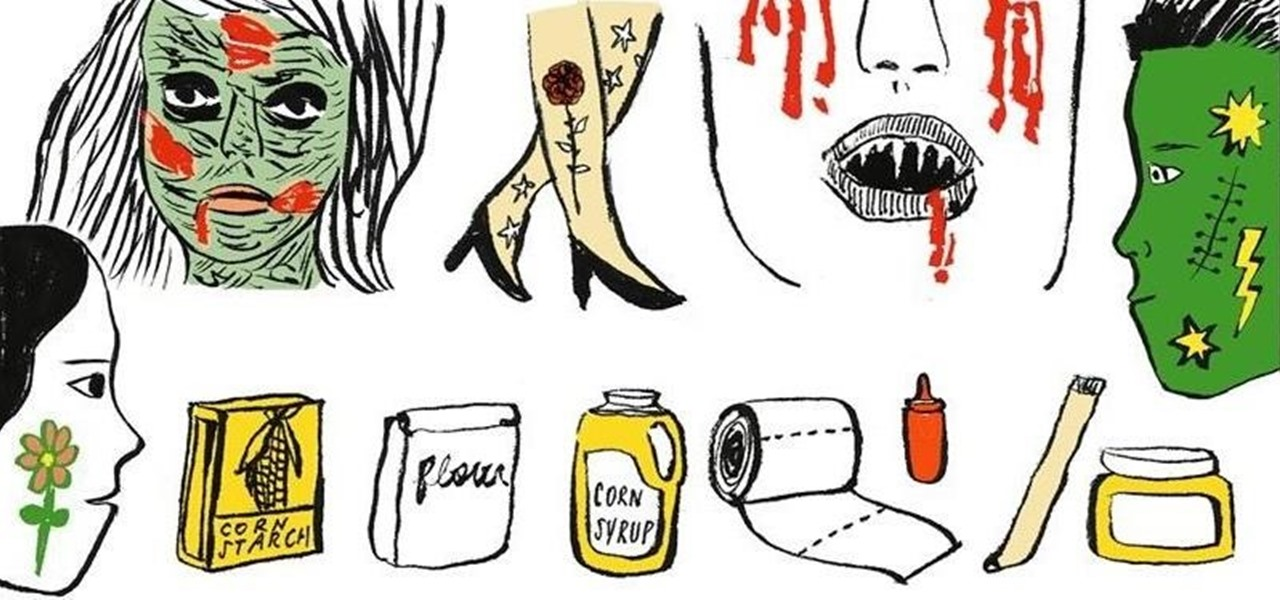 7 Halloween Makeup Tricks Using Common Household Items