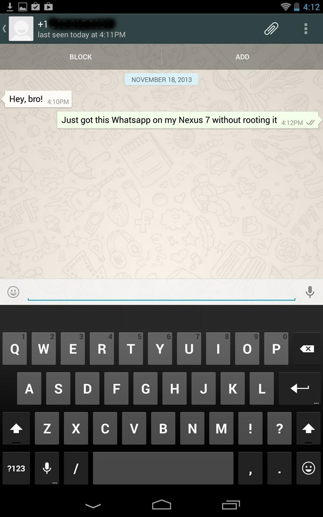 ... Ready Set Give Me Your Hand Wallpaper How to set up whatsapp on your
