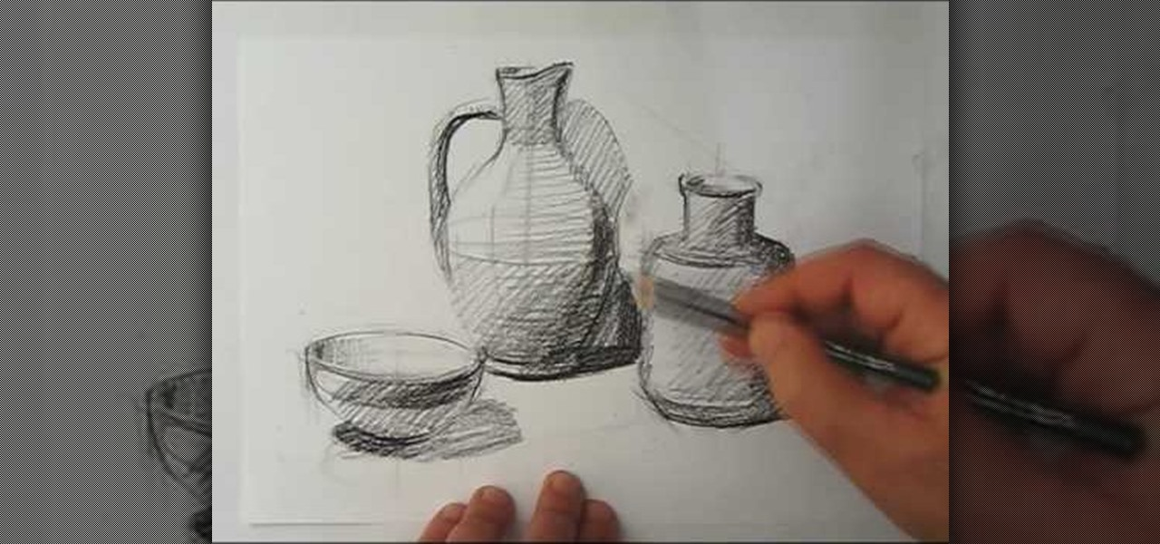 Scribble Drawing Still Life : How to draw a still life « drawing illustration