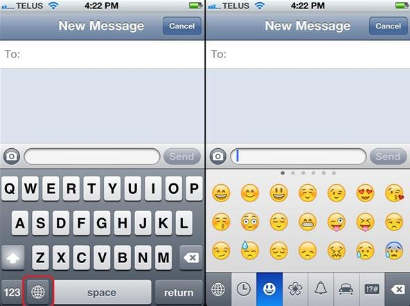How to Enable Emoticons on Your iPhone (iOS 5+)