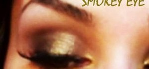 Do a daytime smoky eye look for everyday