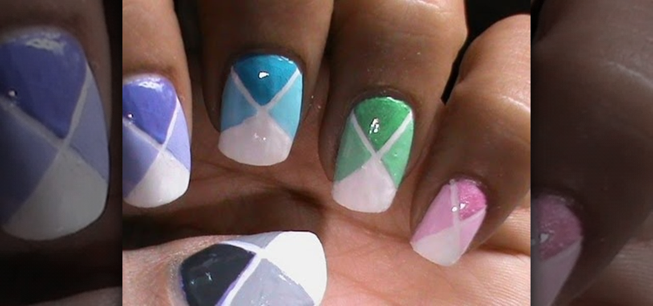 Do Shaded Color Blocking Nails ?!