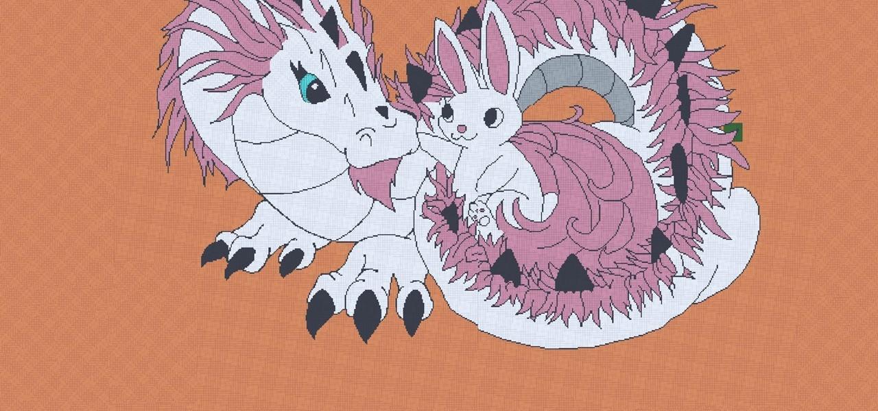 The Dragon&Bunny Pixel-Art