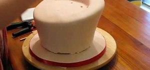 Make a topsy turvy cake