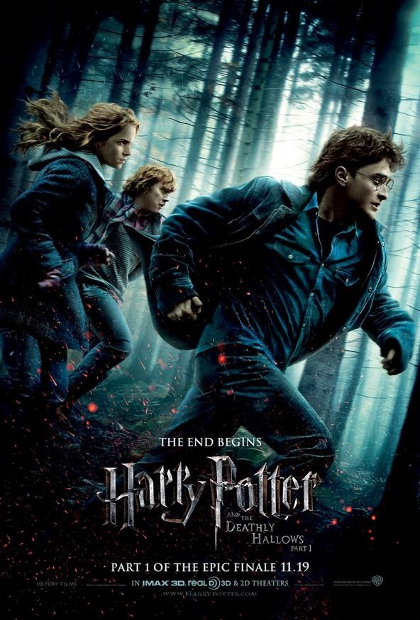 Harry Potter 7 or Harry Potter and the Deathly Hallows