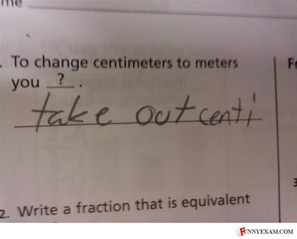 WTFotos of the Day: How to Piss Off Your Math Teacher, Exam-Style