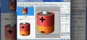 Create a power cell icon in RealWorld Icon Editor