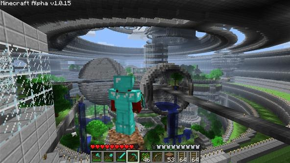 The Biggest House In Minecraft Images & Pictures - Becuo