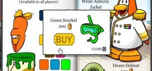 Find secret February clothing in Club Penguin
